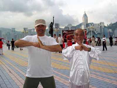 Tai chi lesson, Hong Kong