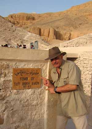 Tomba di Tut Ankh Amon, Valle dei Re, Luxor, Egitto