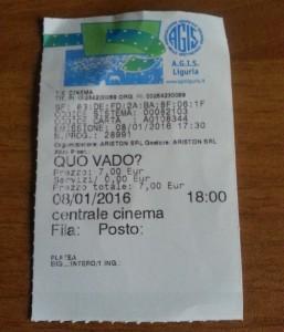 Checco Zalone biglietto