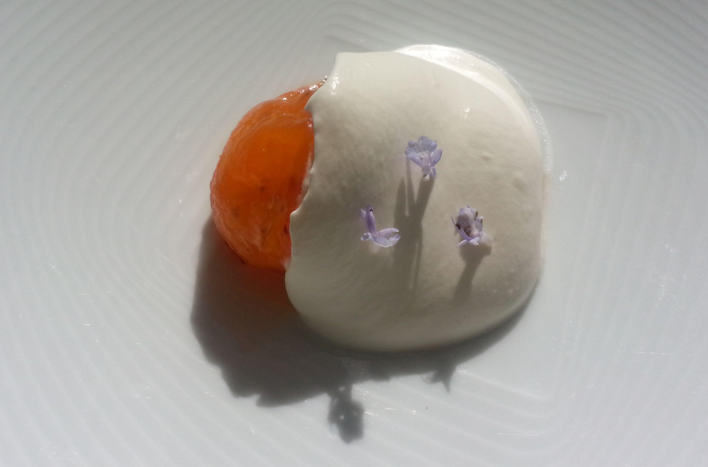 dessert-caco-alla-crema-montata-al-cognac-e-fiori-di-rosmarino
