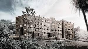 l'Hotel Angst in una riproduzione della Belle Epoque